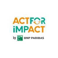 Logo Act For Impact by BNP PARIBAS