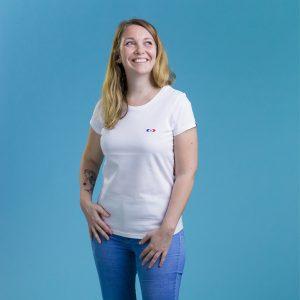 t shirt original femme simple porte