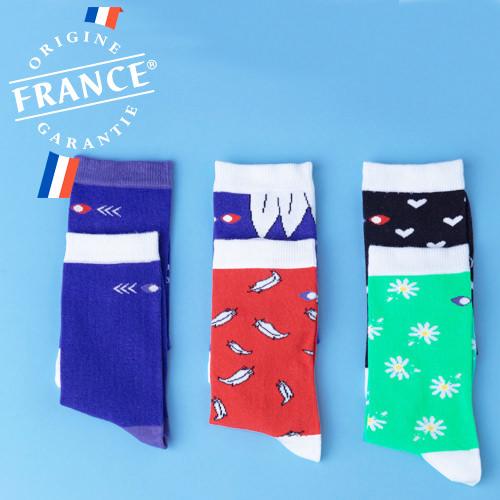 chaussettes origine france garantie