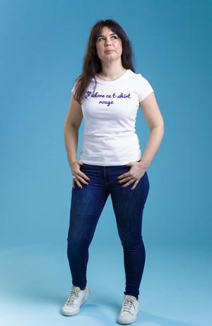 precommande tee shirt femme jadore ce t shirt rouge 3