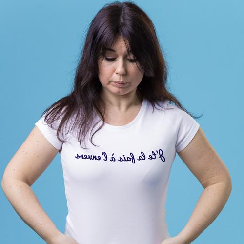tee shirt francais solidaire femme j te la fais a l envers