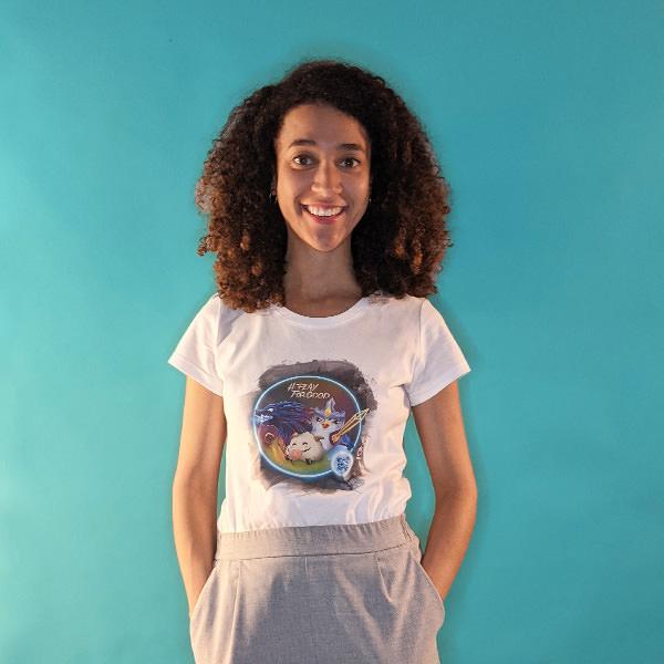 tee shirt play for good femme