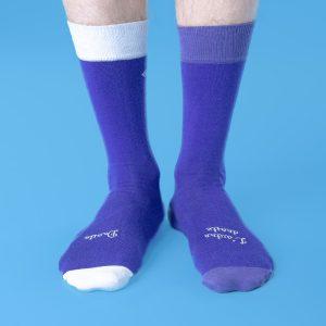 chaussettes dépareillées françaises la classique portée