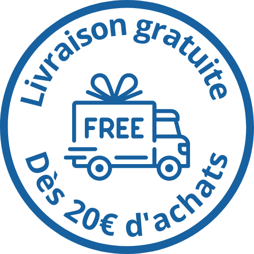 livraison gratuite des 20€ achats